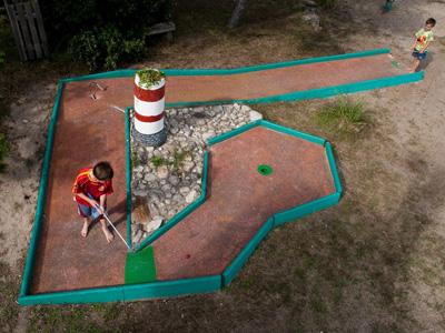 Mini golf la Turballe