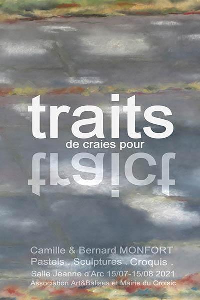 """Exposition """"Traits de craies pour Traict"""""""