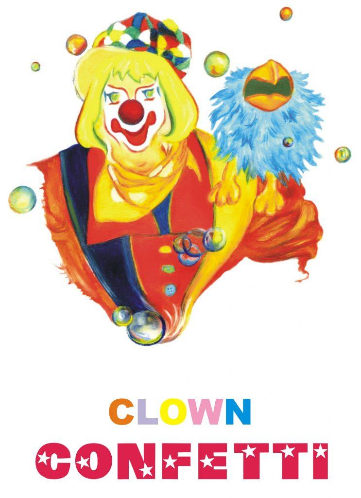 """Spectacle enfant """"Clown Confetti"""" - 11h"""