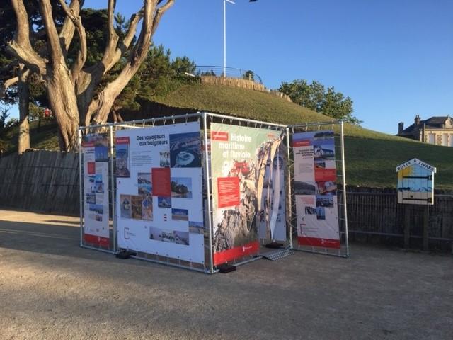 « Histoire maritime et fluviale des Pays de la Loire » Exposition de plein air